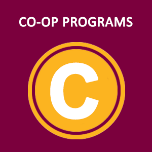 Image of Co-Op icon from the M.A.P. on www.mapsci.ca which represents co-operative education programs in Science at McMaster