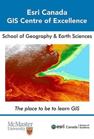 image of GIS map generated at McMaster University SGES