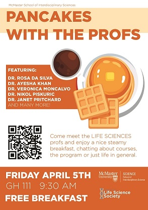 Pancakes with Profs